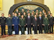 越南人民军总参谋长杜伯巳会见中国副主席习近平