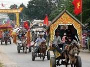 越南高棉族同胞欢庆2012年传统节日