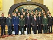 越南与中国加强军事关系