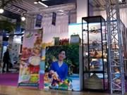 2012年尼斯国际贸易博览会的芹苴市烙印