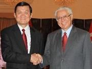 新加坡共和国总统即将访越