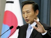 韩国总统开始对缅甸进行历史性访问