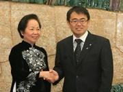 越南国家副主席赴日出席《亚洲的未来》国际会议