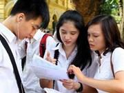 越南2012年高中毕业考试已圆满结束