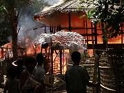 缅甸西部骚乱基本得到控制气氛仍十分紧张