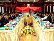 老挝万象与越南胡志明市推进全面合作关系