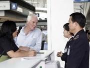 在越南内排和新山一国际机场实施退还增值税