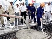 胡志明市迪朝桥梁正式竣工通车
