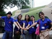"""题为""""回红土之地""""的2012年越南夏令营活动拉开序幕"""