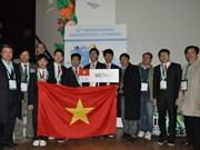 越南学生参加第五十三届国际数学奥林匹克竞赛