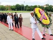 柬埔寨国会主席韩桑林圆满结束对越南正式友好访问