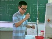 越南学生参加2012年国际化学奥林匹克竞赛凯旋归来