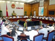越南政府召开2012年7月份例行会议