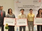 越南汇丰银行为贫困儿童捐助14.85万美元