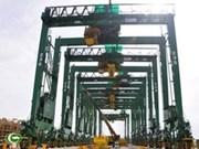 越南MHS公司成功向新加坡出口8台起重机