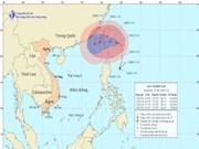 """受台风""""天秤""""的影响 大海风起浪涌"""