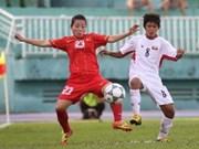 越南第二次夺得东南亚女子足球锦标赛桂冠