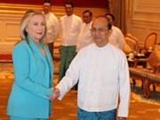 美国放宽对缅甸货物制裁政策