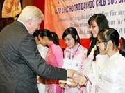 越南66名优秀大学生获得德国黑森州奖学金