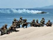 美国与菲律宾举行联合军演