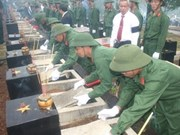 在柬老牺牲的越南志愿军和专家遗骸搜寻与归宿工作总结