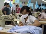 2012年第四季度纺织服装出口状况释放积极信号