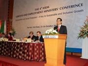 第四次亚欧劳动与就业部长会议在河内开幕