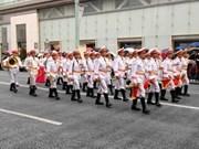 越南参加第十七届世界警察音乐会