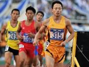 越南田径代表团参加泰国田径公开锦标赛