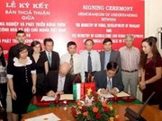 越南与匈牙利签署兽医合作协议