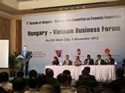 越匈企业家座谈会在胡志明市举行