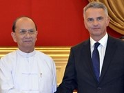 欧盟协助缅甸巩固和平建设国家
