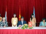 卢森堡协助越南展开越南联合国共同计划