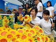2012年越南向日葵节点燃儿童癌症患者希望之火