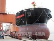 越南下龙造船厂5.3万顿级货船成功交付