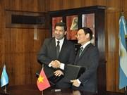 越南与阿根廷签署海关合作协议