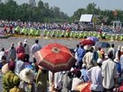 2012年第六届南部高棉族同胞文化体育与旅游节在坚江省开幕