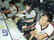 美国协助越南举办残疾人信息技术培训班