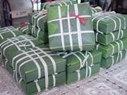 同奈省向世界各国出口40吨粽子