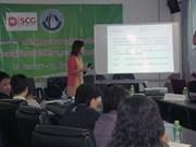 泰国记者越南语培训班正式开学