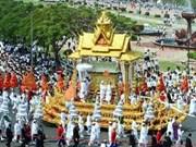 柬埔寨首相洪森会见各国领导及高级官员
