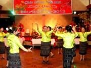 旅居老挝越南同胞举行2013年癸巳春节见面会