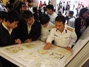 越南黄沙群岛资料展会吸引国内外数千人次参观