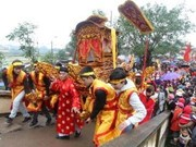 2013年林庙会:越南北宁省的传统文化之美