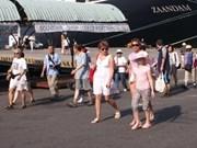 2013年第一季度岘港港口接待游客量达约5万人次