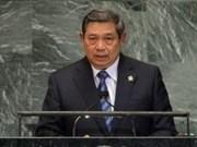 印尼总统苏西洛:解决东海争端问题需要长期时间