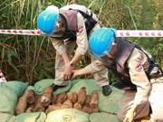 越南希望国际社会帮助越南克服战后遗留炸弹后果