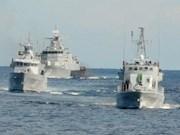 马来西亚与文莱举行联合军演