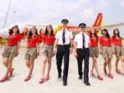 越捷航空公司6月初开通河内飞往曼谷航线