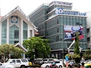 老越联营银行举行2012年银行工作总结会议